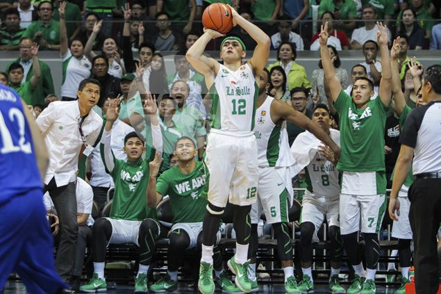 Dagger trey against Ateneo gives La Salle rookie Torralba a shot of confidence