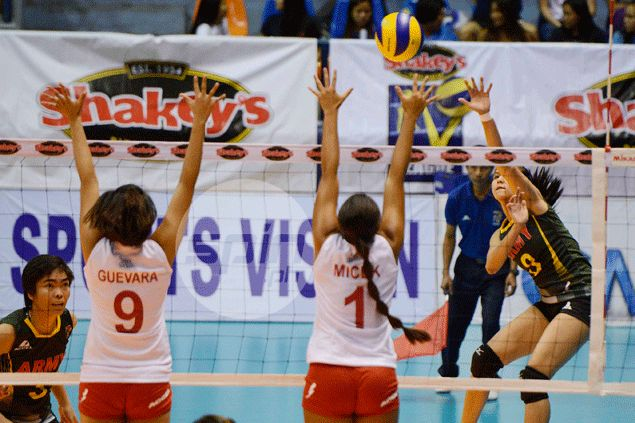 Lady Troopers first to V-League Reinforced Conference semis after making short work of Lady Sailors