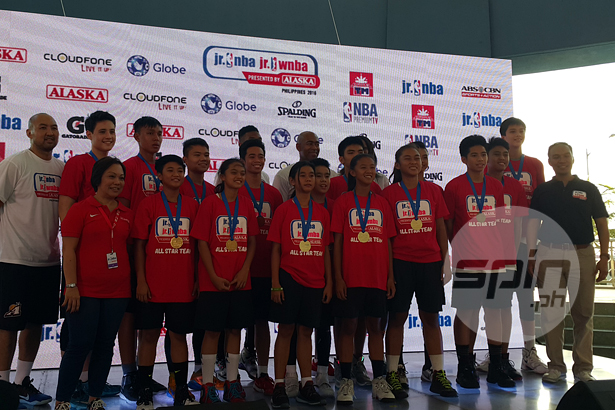 Kai Sotto stands out, named MVP in Jr. NBA Philippines National Training Camp