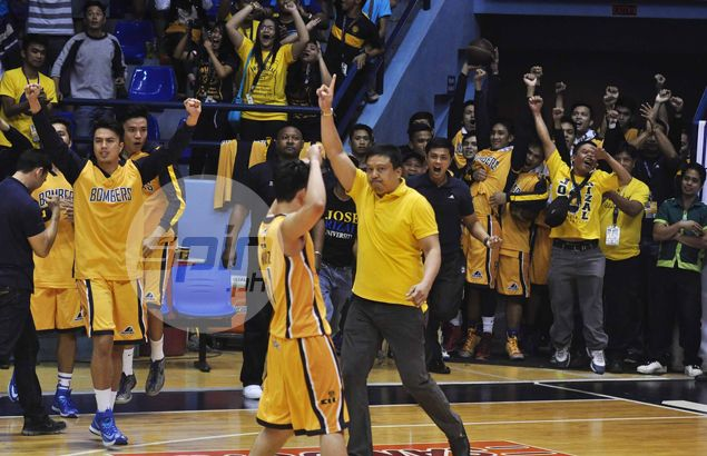 JRU Bombers outlast favored Arellano Chiefs in triple-overtime NCAA thriller
