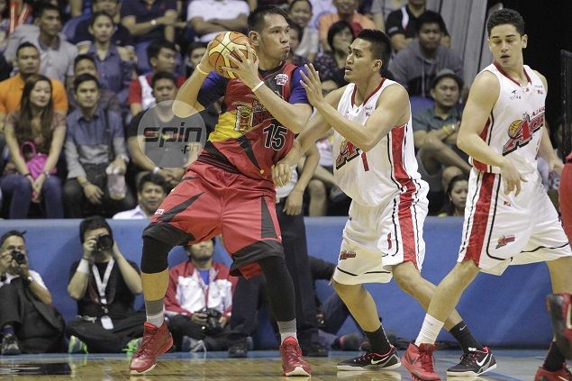 San Miguel Beer a win away from ending PBA title drought after holding off Alaska in Game Five