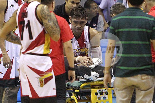 Shock turns into hope as Gilas monitors Fajardo injury ahead of Olympic qualifiers