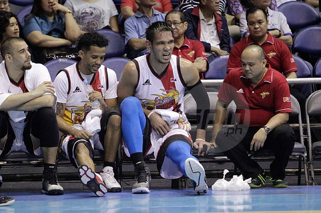Search for replacement on as top vote-getter June mar Fajardo's PBA All-Star stint dims