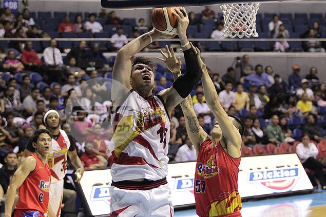 June Mar Fajardo not worried that San Miguel offense coming only from a few players