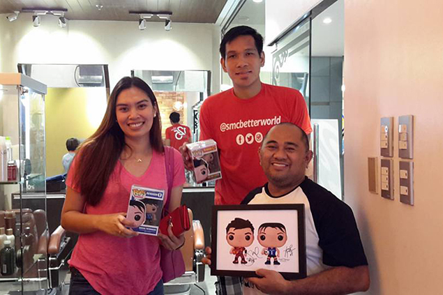 Aerieal Patnongon gives one-of-a-kind gift to boyfriend June Mar Fajardo as homecoming present