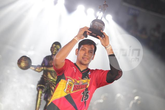 Trophies galore as back-to-back MVP June Mar Fajardo a giant in every sense of the word