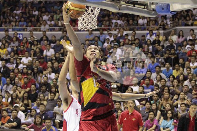Fajardo has final say in duel against Slaughter as San Miguel Beer holds off Ginebra comeback