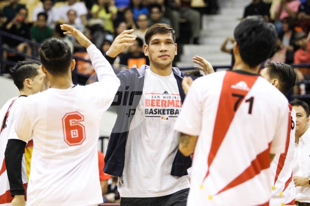 June Mar Fajardo cleared by doctors, but insists he won't play until 100 percent healthy