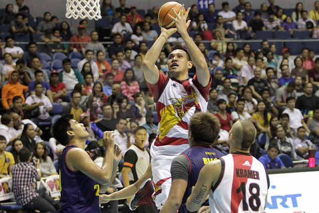 San Miguel Beer shows poise to weather fightback by depleted Rain or Shine in PBA season debut