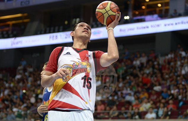 June Mar Fajarado hopes to complete unfinished business as San Miguel back in finals
