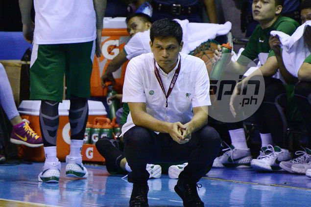 Juno Sauler has resigned as La Salle Green Archers head coach, say sources