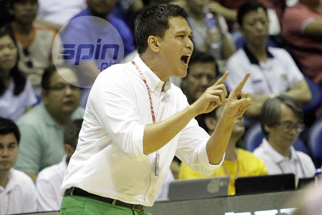 Juno Sauler left to rue decision not to call timeout late in La Salle loss to UE Red Warriors
