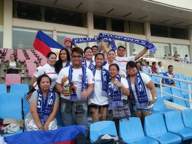Kaholeros' dogged determination: Azkals' travelling fans make presence felt in enemy territory