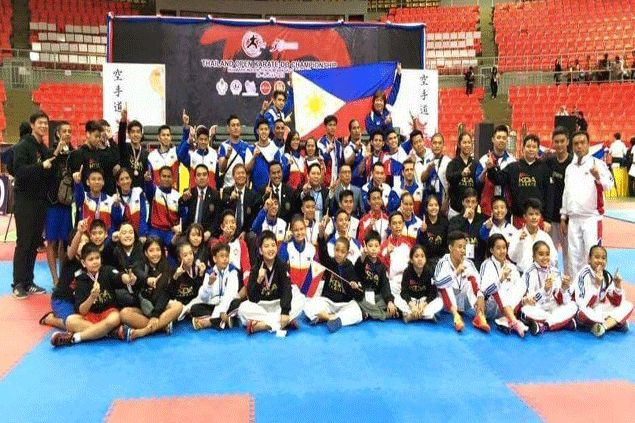 Asiad veteran Mae Soriano anchors PH karate team's golden campaign in Thailand Open