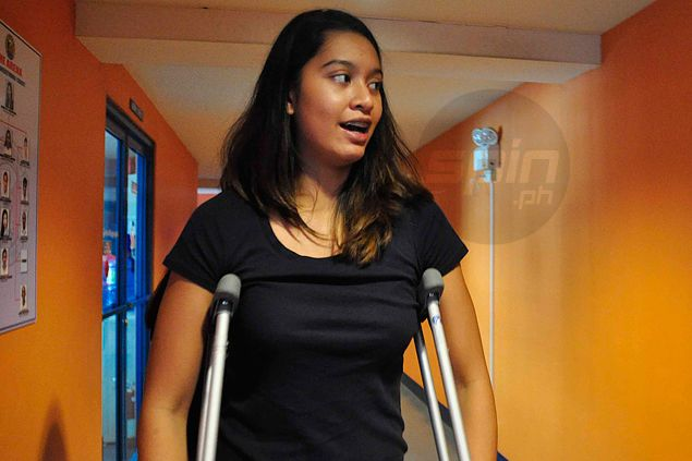 Kat Tolentino says emotional trauma worse than physical pain as she deals with third ACL injury