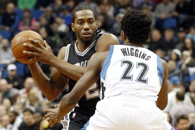Quietly effective players Kawhi Leonard, Andrew Wiggins tipped to be rivals of the future