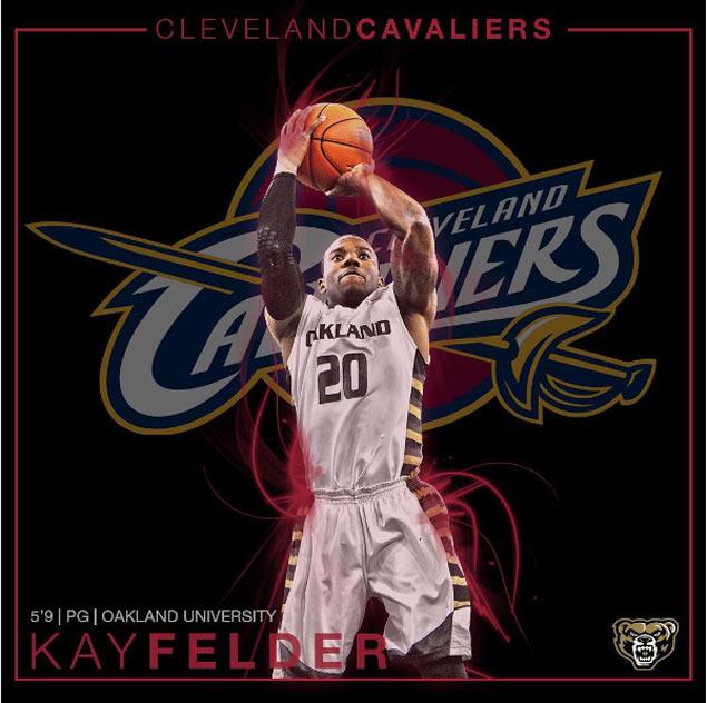 Cavs add depth to backcourt by buying Atlanta pick, selecting 5-foot-9 spitfire Kay Felder