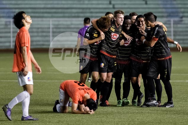 Kaya FC stuns Loyola Meralco on Robert Mendy late winner to reach UFL Cup semis