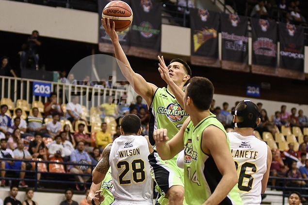 Keith Jensen heaves sigh of relief as he avoids becoming goat for GlobalPort