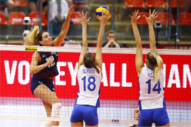 Defending champ USA wallops Russia to seal FIVB World Grand Prix finals duel against Brazil