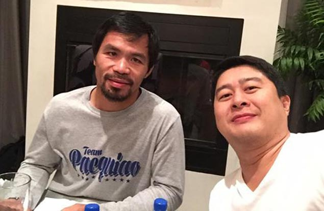 Manny Pacquiao finds time to rest on Easter Sunday, spends time with family