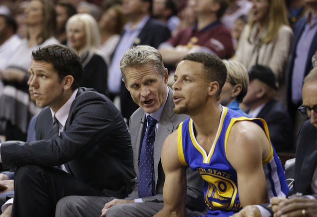 Steve Kerr won't hesitate to make another lineup change after blowout loss