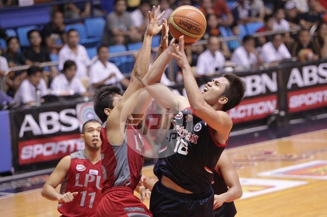 Letran Knights survive scare from bottom team Lyceum Pirates to preserve unblemished slate