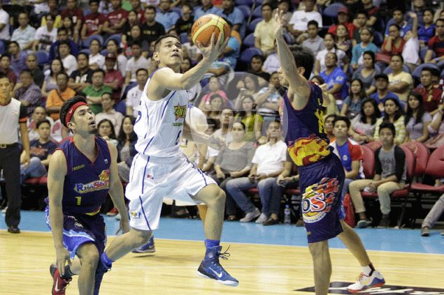 Talk 'N Text hero Kevin Alas insists he wasn't out to prove anything to Rain or Shine