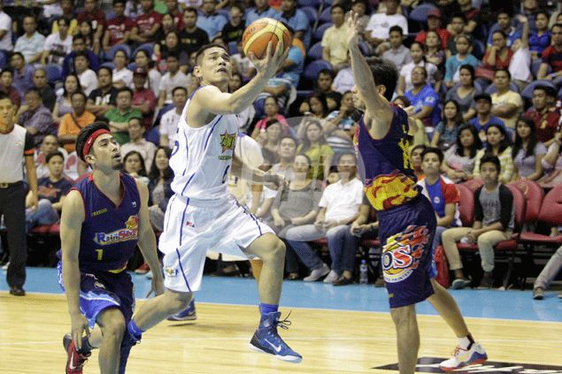 Rookie Kevin Alas considers himself lucky to have Alapag, Castro, Miller as mentors in continuing PBA education