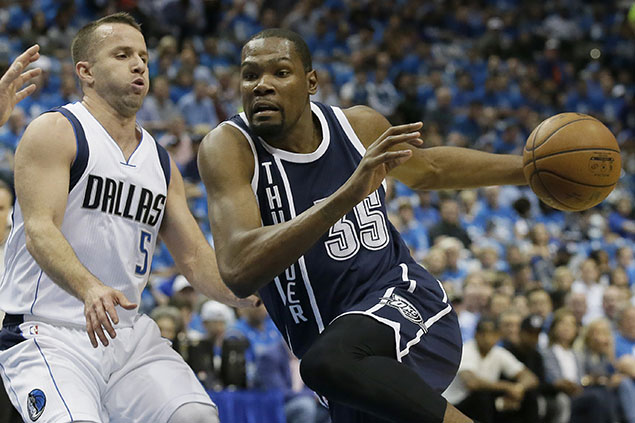 Thunder bounce back strong from tough Game 2 loss with 29-point rout over Mavs