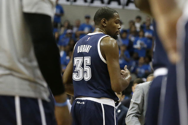 Kevin Durant, LeBron James quick to deny 'dirty play' accusations in testy playoffs