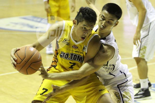 Sprained ankle makes Kevin Ferrer a doubtful starter for UST in game against De La Salle