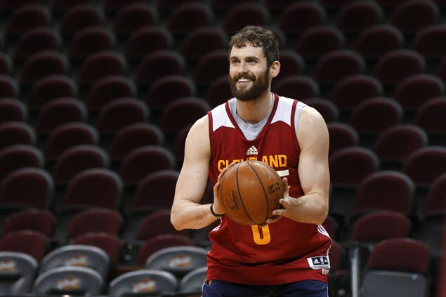 Cavs played all out for Love in Game 3 but star forward's return to NBA Finals still uncertain