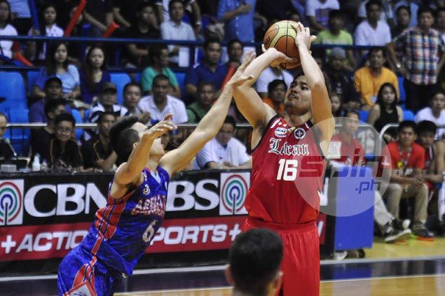 Letran Knights stay on course for first-round sweep after turning back Chiefs