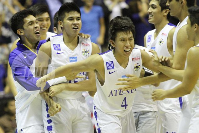 Kiefer Ravena's last-gasp basket clinches Ateneo win over fighting UST Tigers