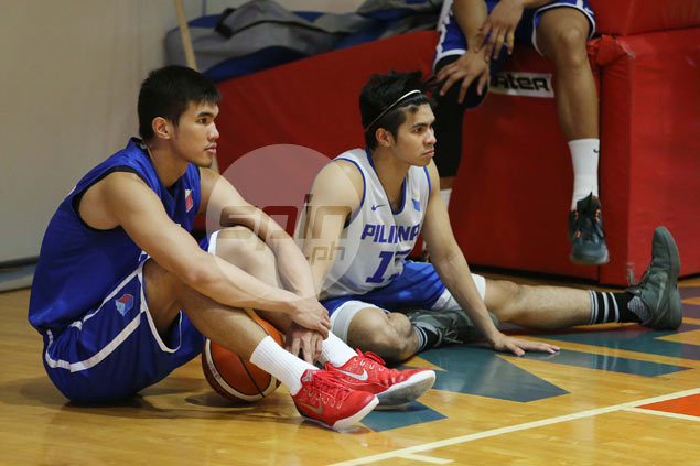 Ravena hardly misses beat in Gilas practice after London vacation with Alyssa Valdez