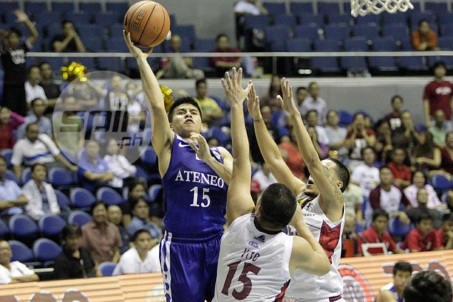 Blue Eagles barely escape past hard-fighting Maroons to clinch playoff for Final Four berth