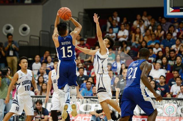 Ravena leads from front as Ateneo atones for horror debut with win over Adamson