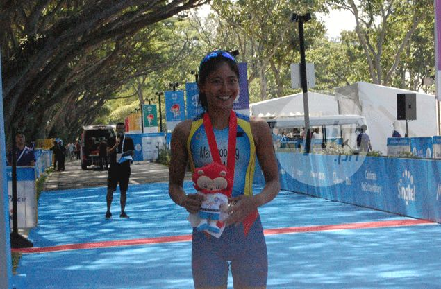 Kim Mangrobang bares 'tactical move' helped pave way for triathlon gold for Philippines