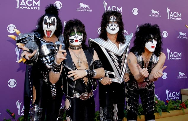 Hall of Fame-bound rock band Kiss to perform in NHL game at Dodger Stadium