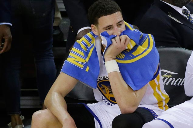 No reason to panic as Warriors 'still in a good spot' heading into Cleveland for Game 6