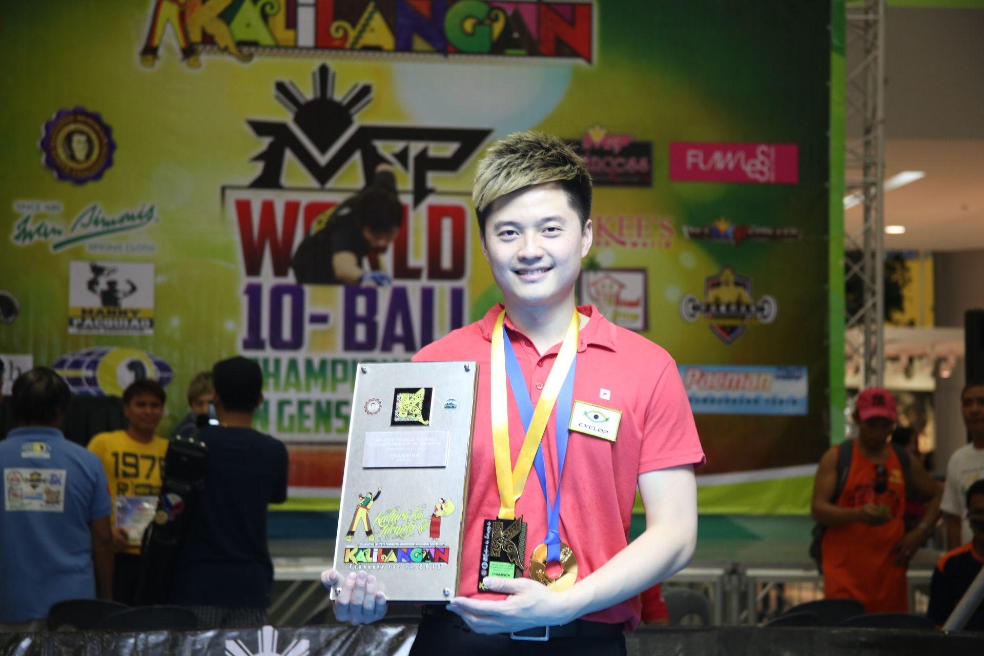 Ko Pin Yi outlasts Carlo Biado to crown himself new World 10-Ball champion