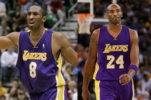 No. 8 or 24  Lakers deliberate on which Kobe number to retire at end of NBA  season 5620e730c