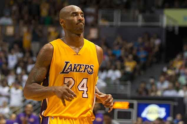 Rated 40th last year, Kobe Bryant is placed by ESPN at 93rd in 2015 NBA player rankings