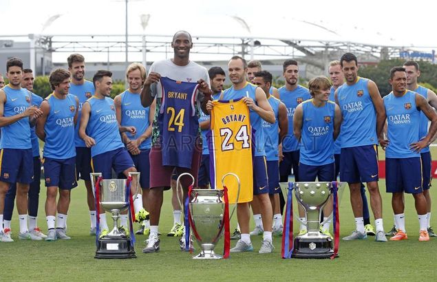 LA Lakers star Kobe Bryant shows Barcelona some love: 'I love how Barca play'