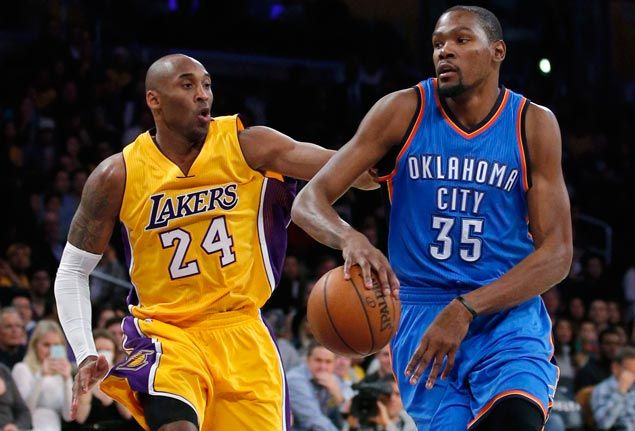 Kobe Bryant to Kevin Durant: 'Be the greatest'