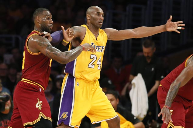 Kobe outduels LeBron but Cavs cruise to victory over Lakers in finale between the two NBA greats