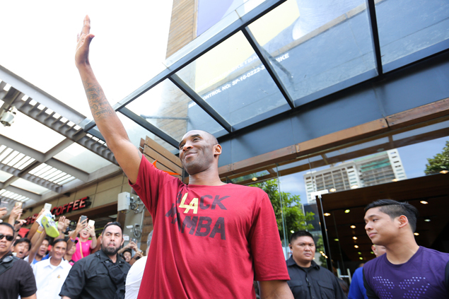 Kobe Bryant rounds up seventh Manila visit with 4 a.m. training with fellow ballers