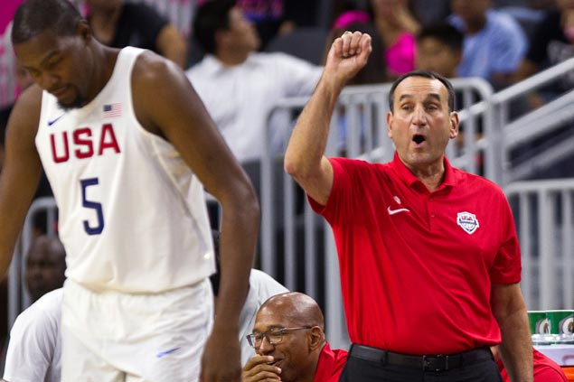 Team USA's golden partnership forged by 'lunch-bucket' guys Jerry Colangelo, Mike Krzyzewski