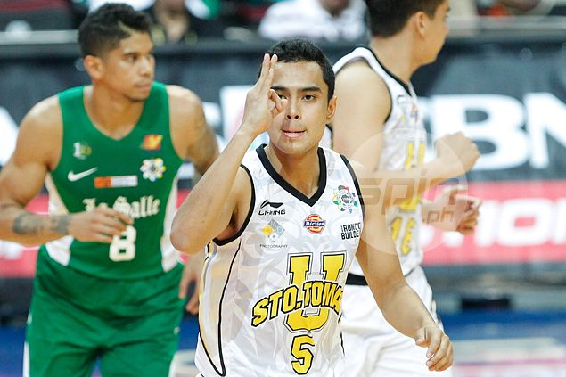 After a pair of transfers and two ACL injuries, Kyle Suarez finally finds his feet at UST